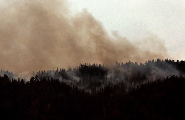 Squirrel Creek Fire