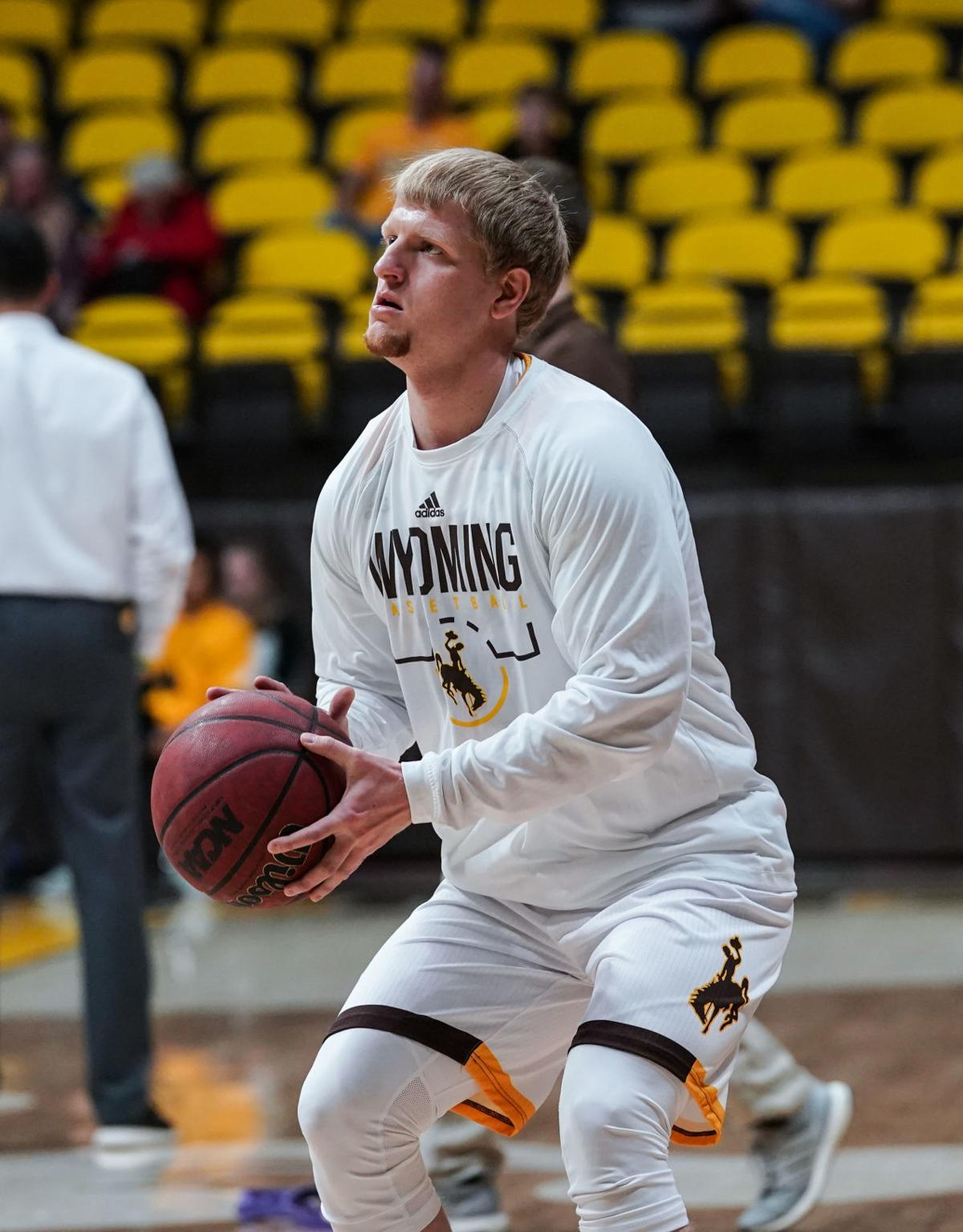 NCAA Men's Basketball: Wyoming vs Utah State