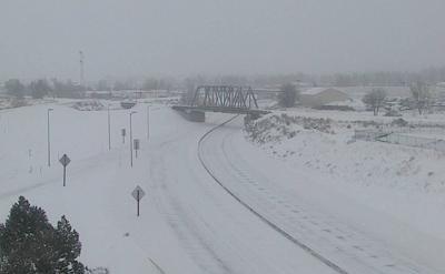 Interstate 25 closed