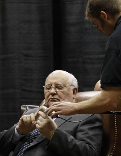 Gorbachev in Wyoming