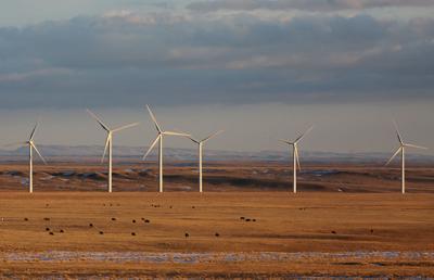 Shirley Basin Turbines