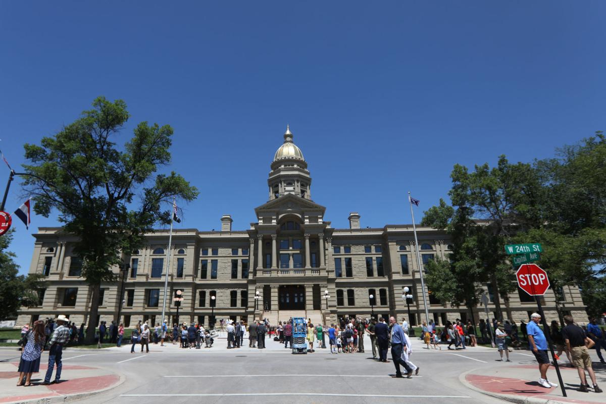 Capitol Building Reopens