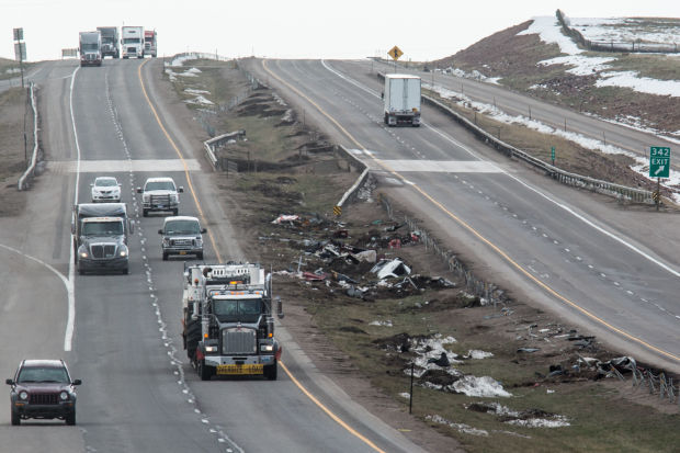 Two stretches of I-80 where pileups occurred are crash-prone