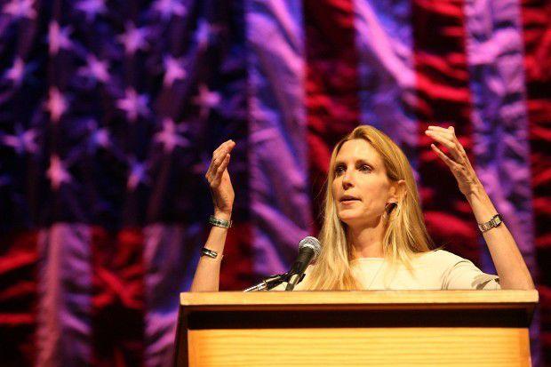 Ann Coulter Speaks at UW