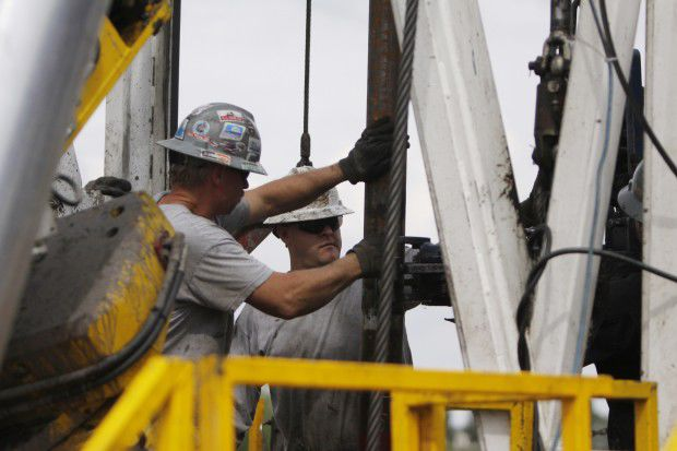 Oil and Gas Markets drill workers