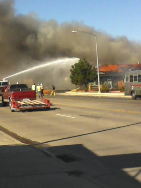 Hitching Post Fire