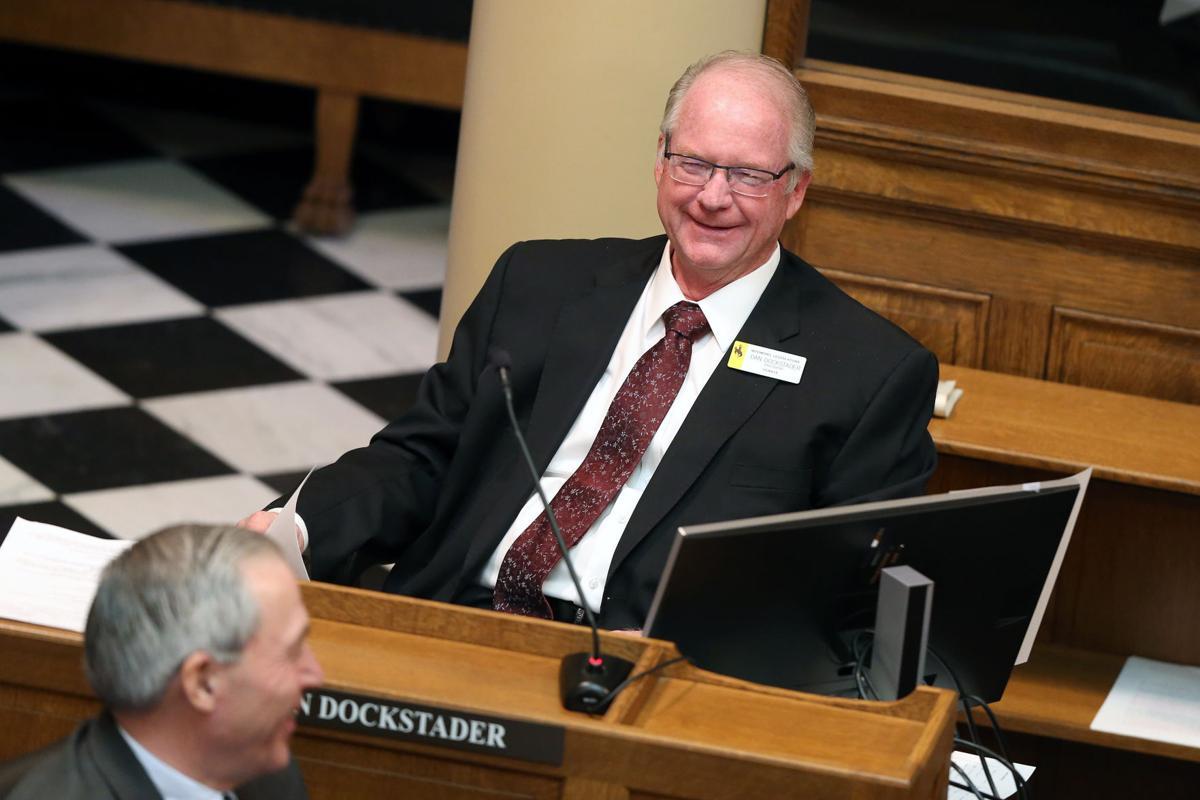 Senate President Dan Dockstader