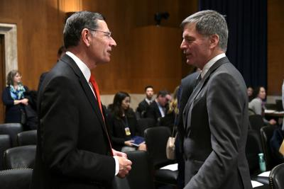 Mark Gordon and John Barrasso