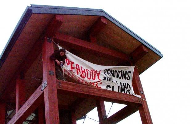 Peabody Coal Protest
