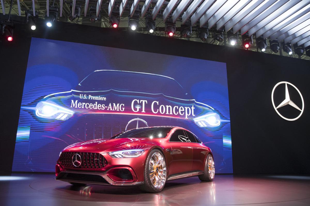 Auto Show Mercedes