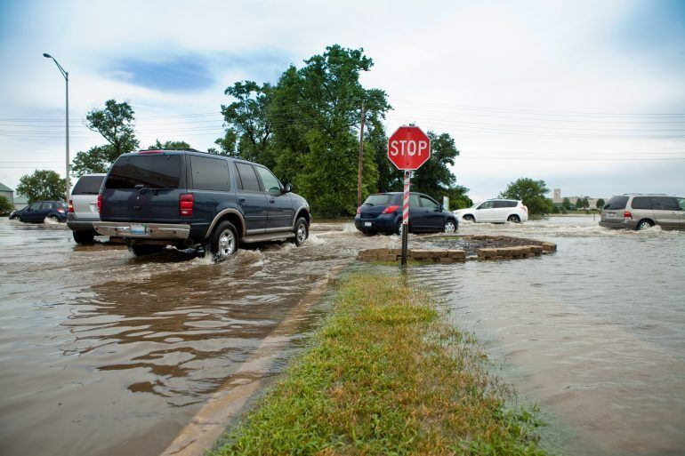 Comprehensive coverage pays for damage from flooding, wind, hail and wildfires.
