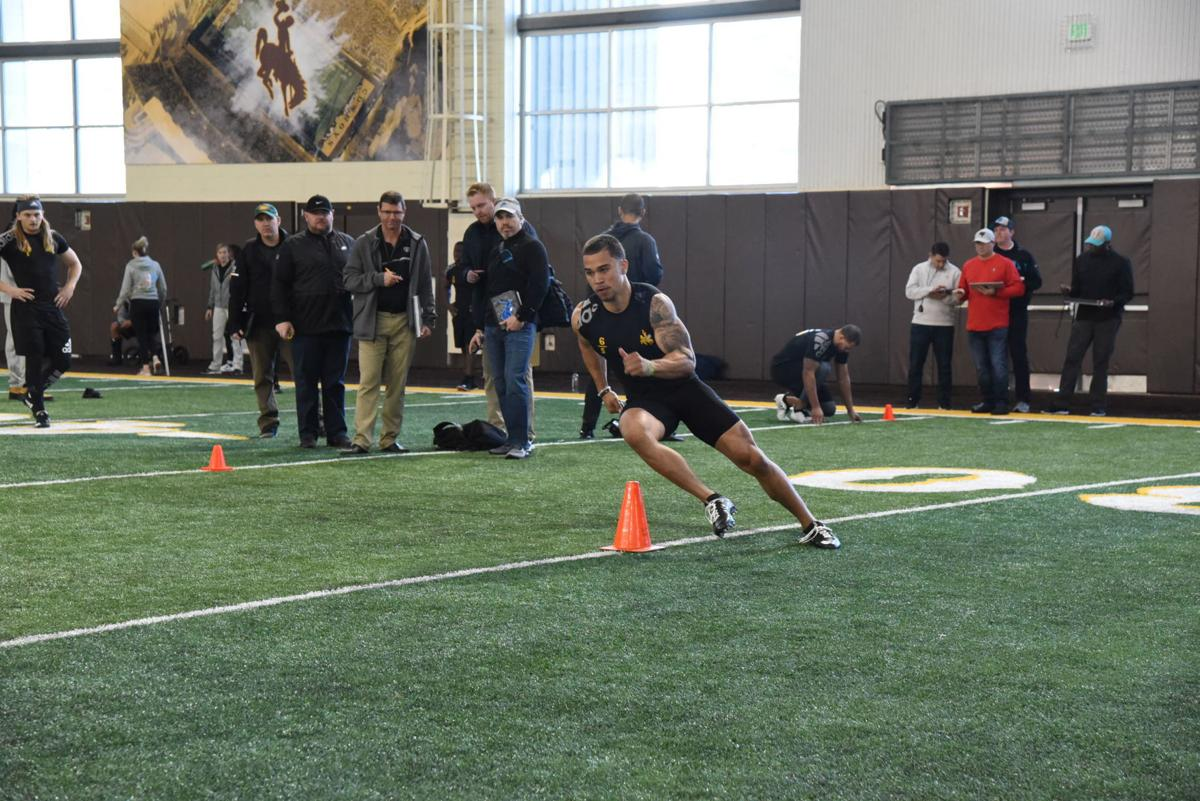 Marcus Epps at Pro Day