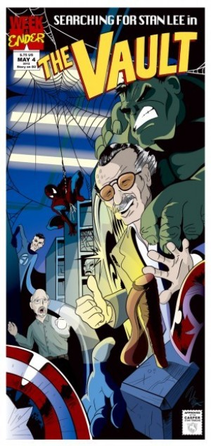 Searching for Stan Lee in the vault: Comic book legend kept archive collection in Laramie