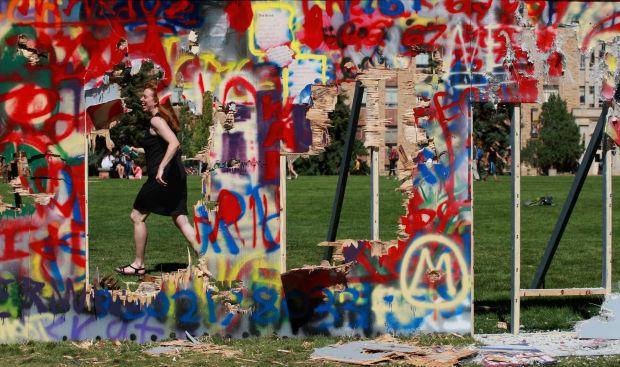 Mock Berlin Wall