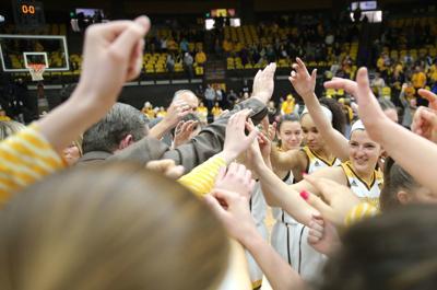 Cowgirls celebrate win over CSU