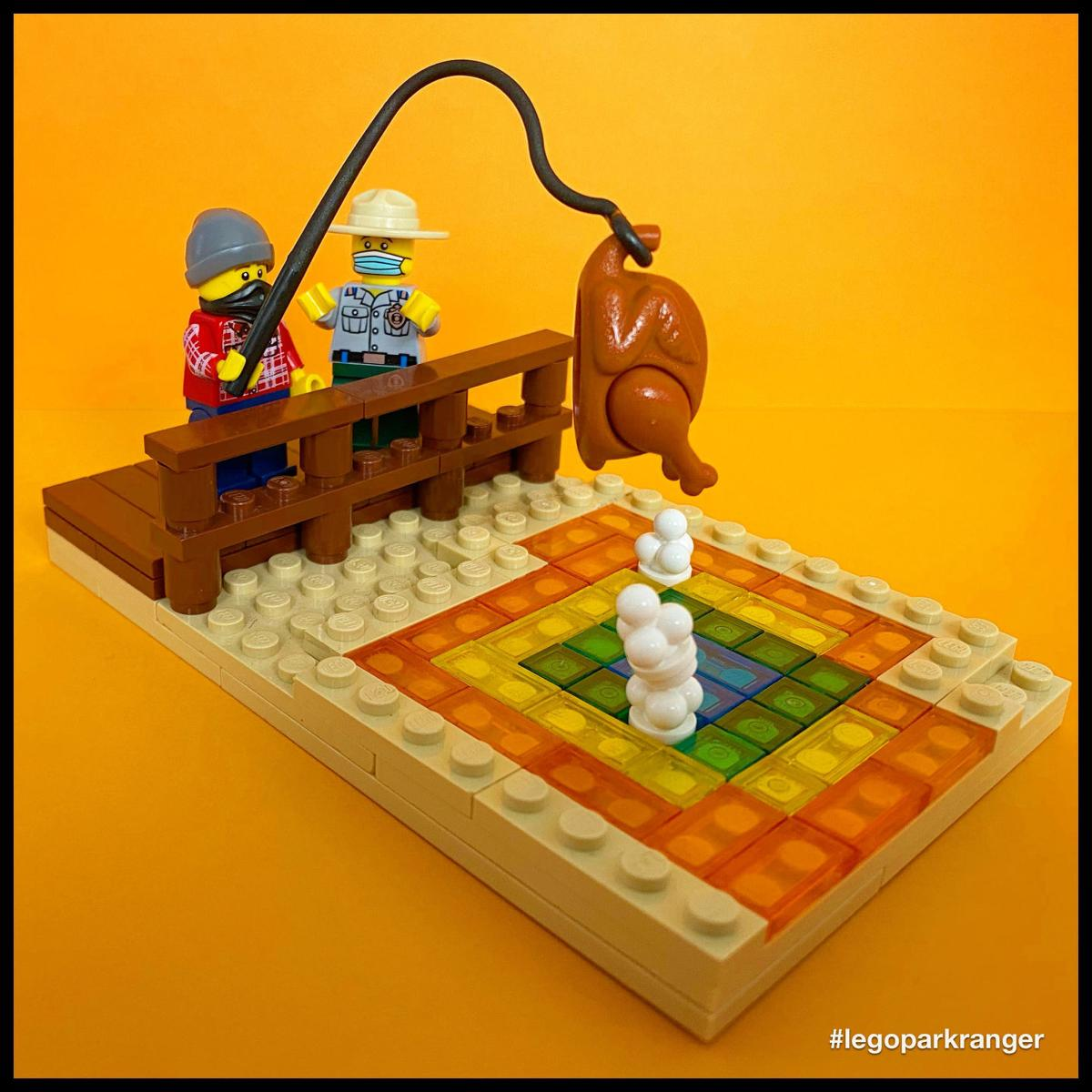 Lego chicken