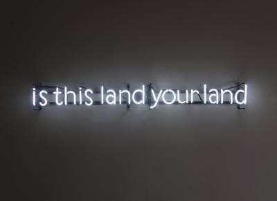 """Nikki Pike """"Is This Land Your Land"""" at UW"""