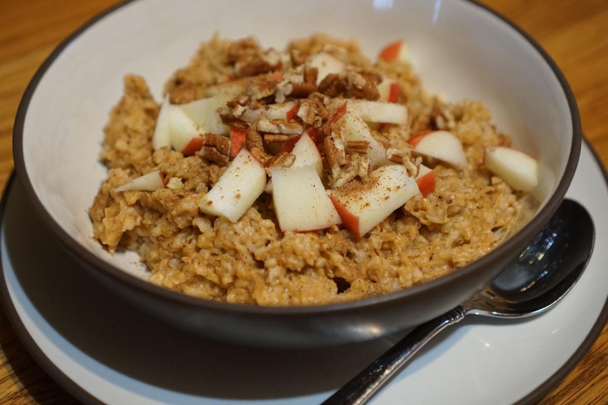 Slow Cooker, Pumpkin Pie Steel-Cut Oatmeal
