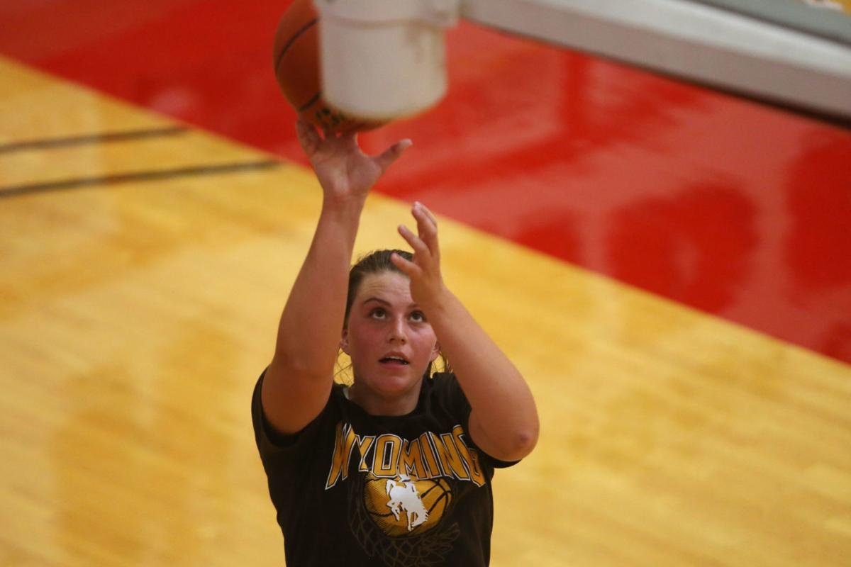 South girls basketball practice