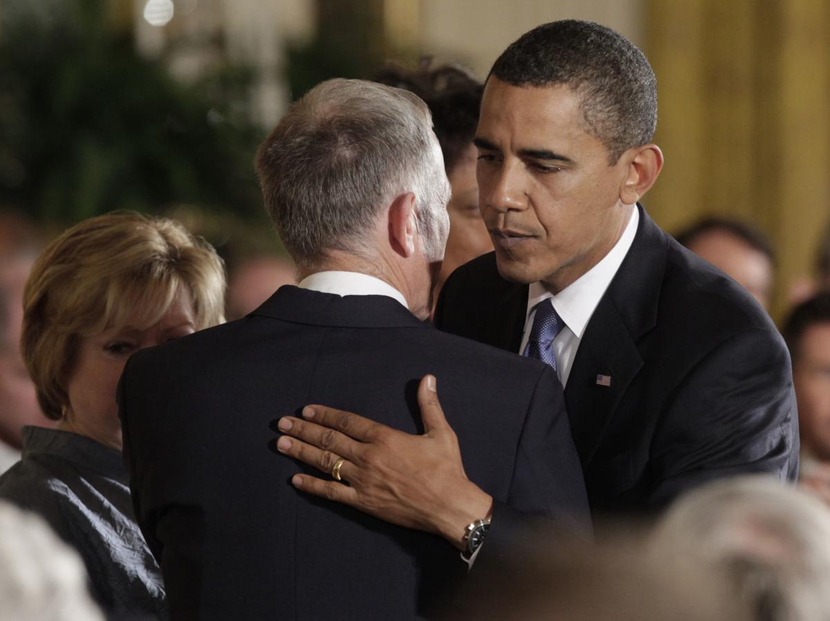 Barack Obama, Dennis Shepard, Judy Shepard