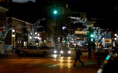 Dashing through downtown