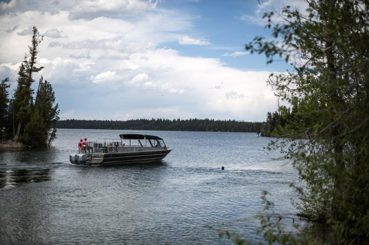 Jenny Lake Boating