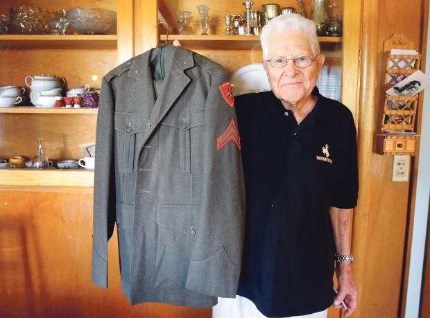 Elmer in uniform