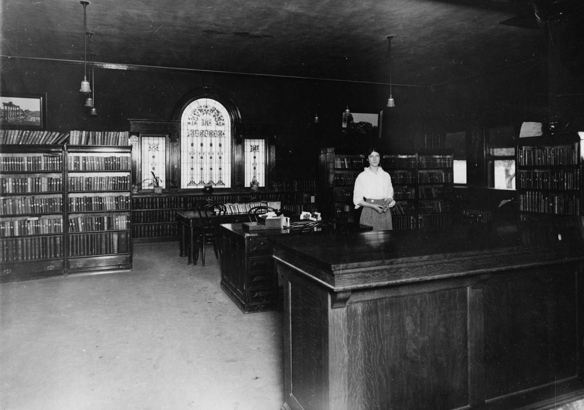 Green River Carnegie Library interior