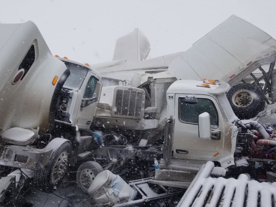 Interstate 80 crash