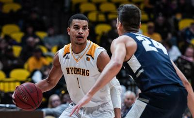 NCAA Men's Basketball: Wyoming vs Utah State