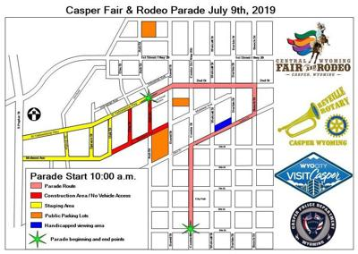 2019 parade route released