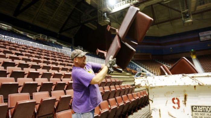 Nissan Of Casper >> Casper Events Center gets revamp: better seats, new logo ...