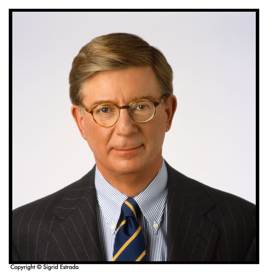 George Will column mug