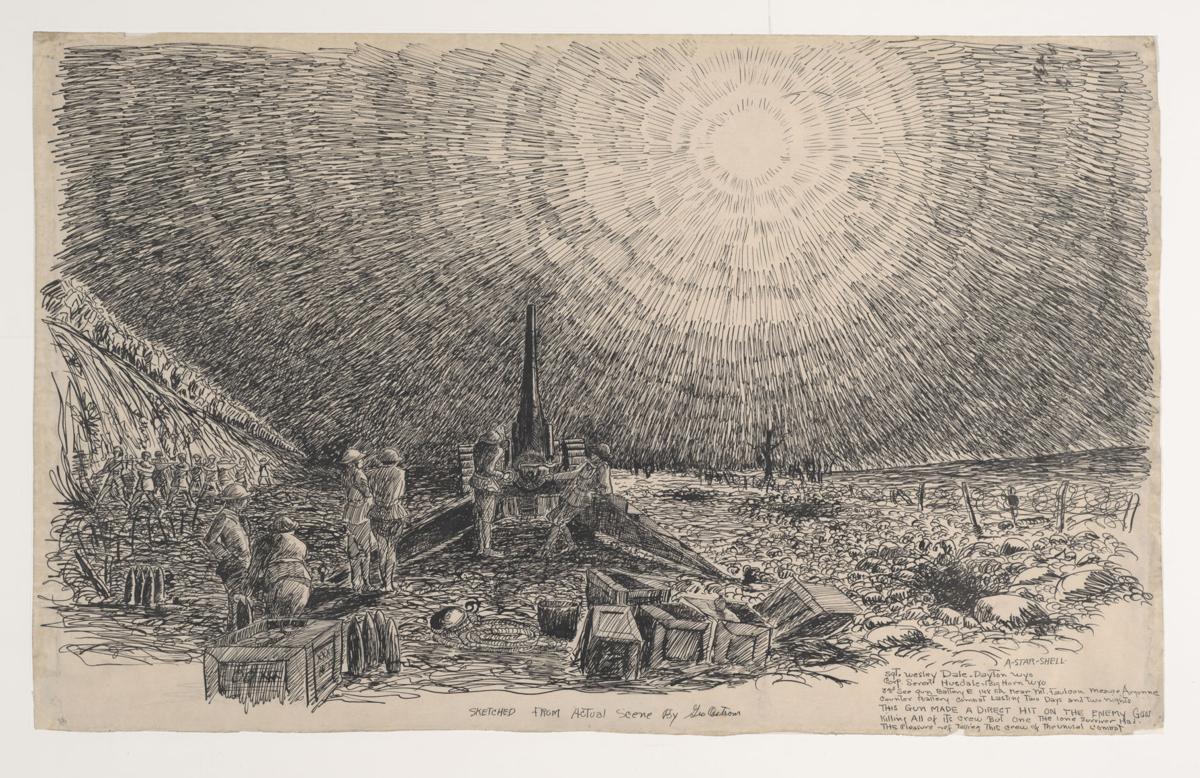 George Ostrom artwork