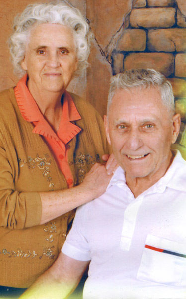 George and Evelyn Hushman