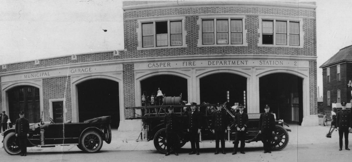 Downtown Casper Furniture Building Hides 1920s Fire Station Garage Casper