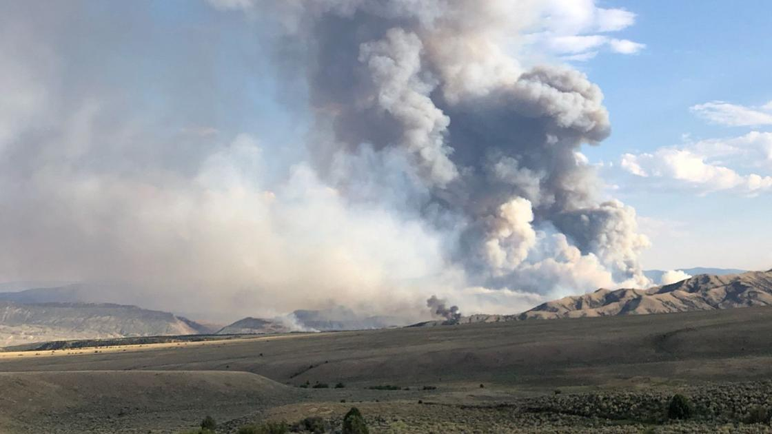 Fire in southwest Wyoming grows to 4,000 acres