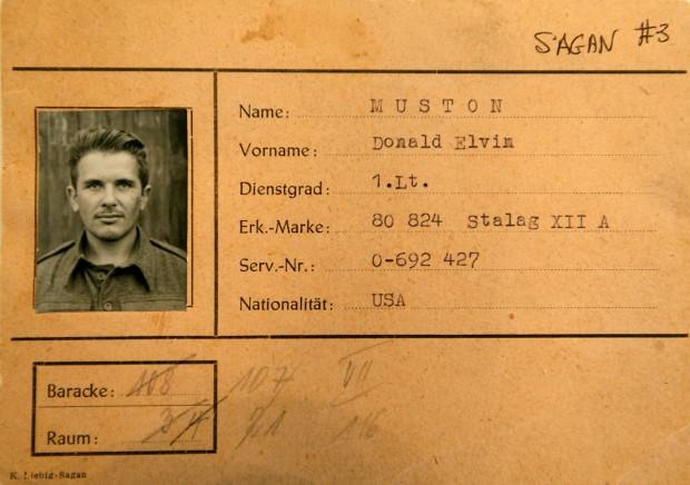 1st Lt. Donald E. Muston, Riverton