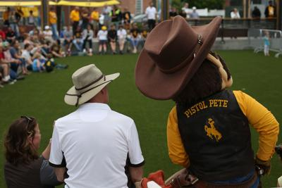 University of Wyoming Pep Rally