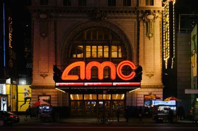 AMC theater in Manhattan