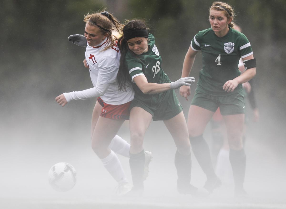 soccer - kelly walsh v evanston girls