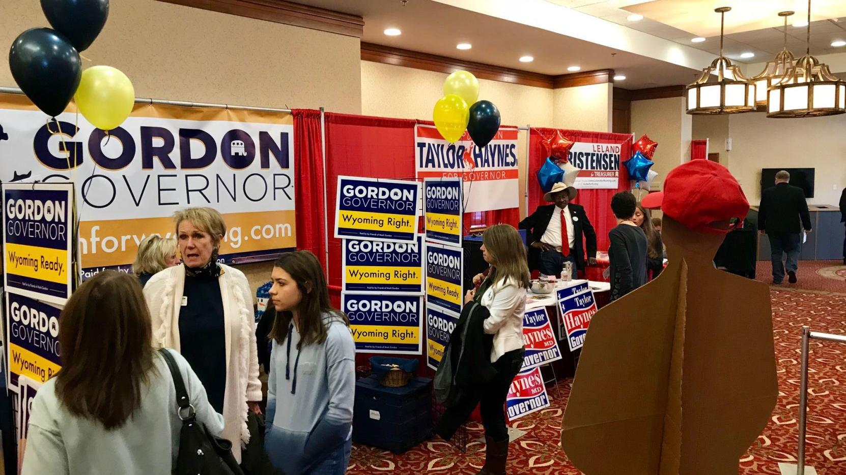 At GOP convention, Wyoming Republicans rally base and tout unity amid crowded primary