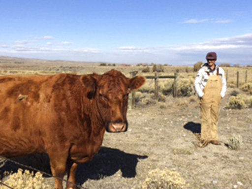 Hay day: Wyoming rancher has big impact on Olympic downhill