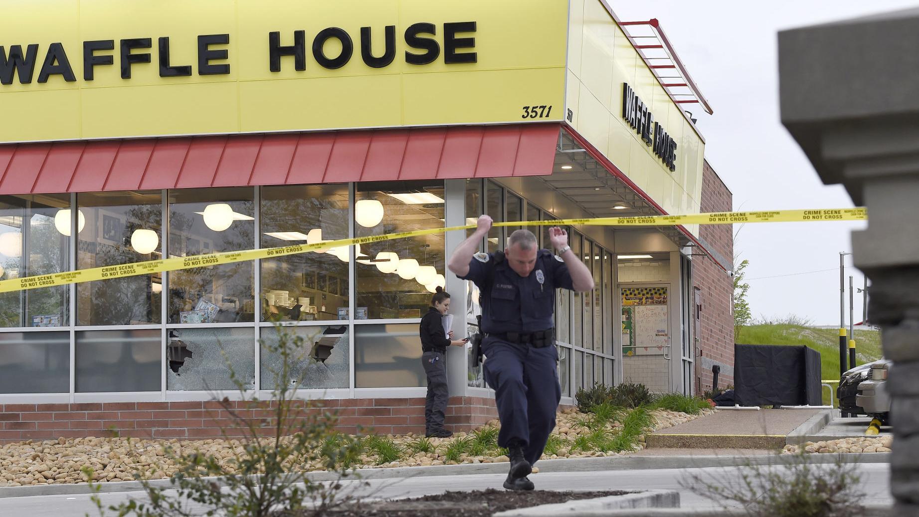Police seek suspect after 4 shot dead in Nashville Waffle House