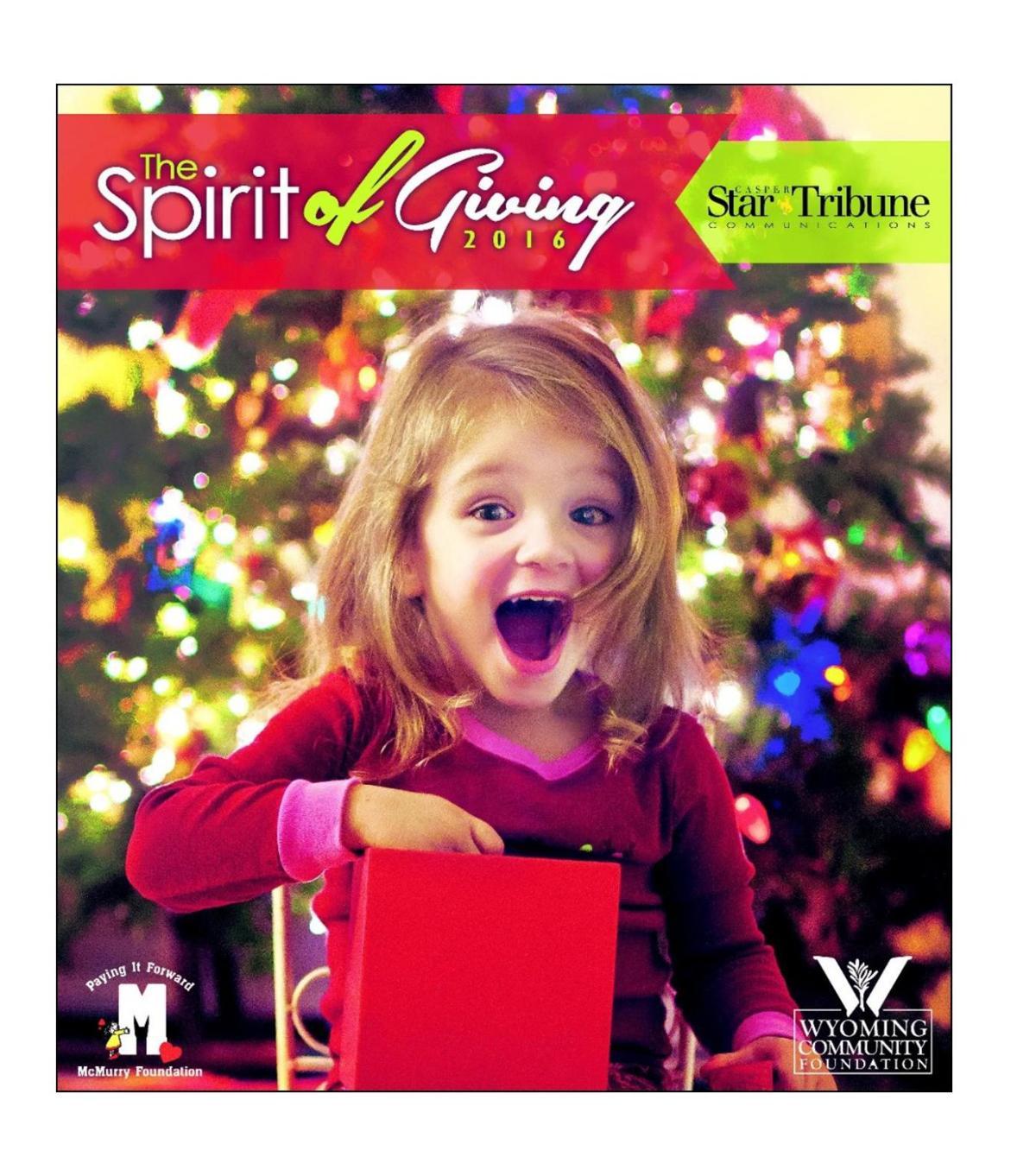 Spirit of Giving, 2016