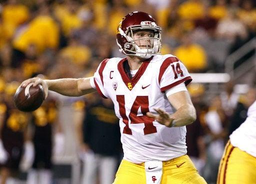 USC quarterback Sam Darnold will enter NFL draft