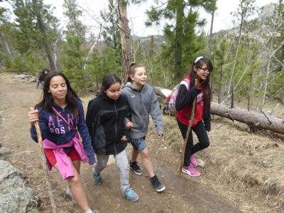 Exchange Hiking Black Elk Peak