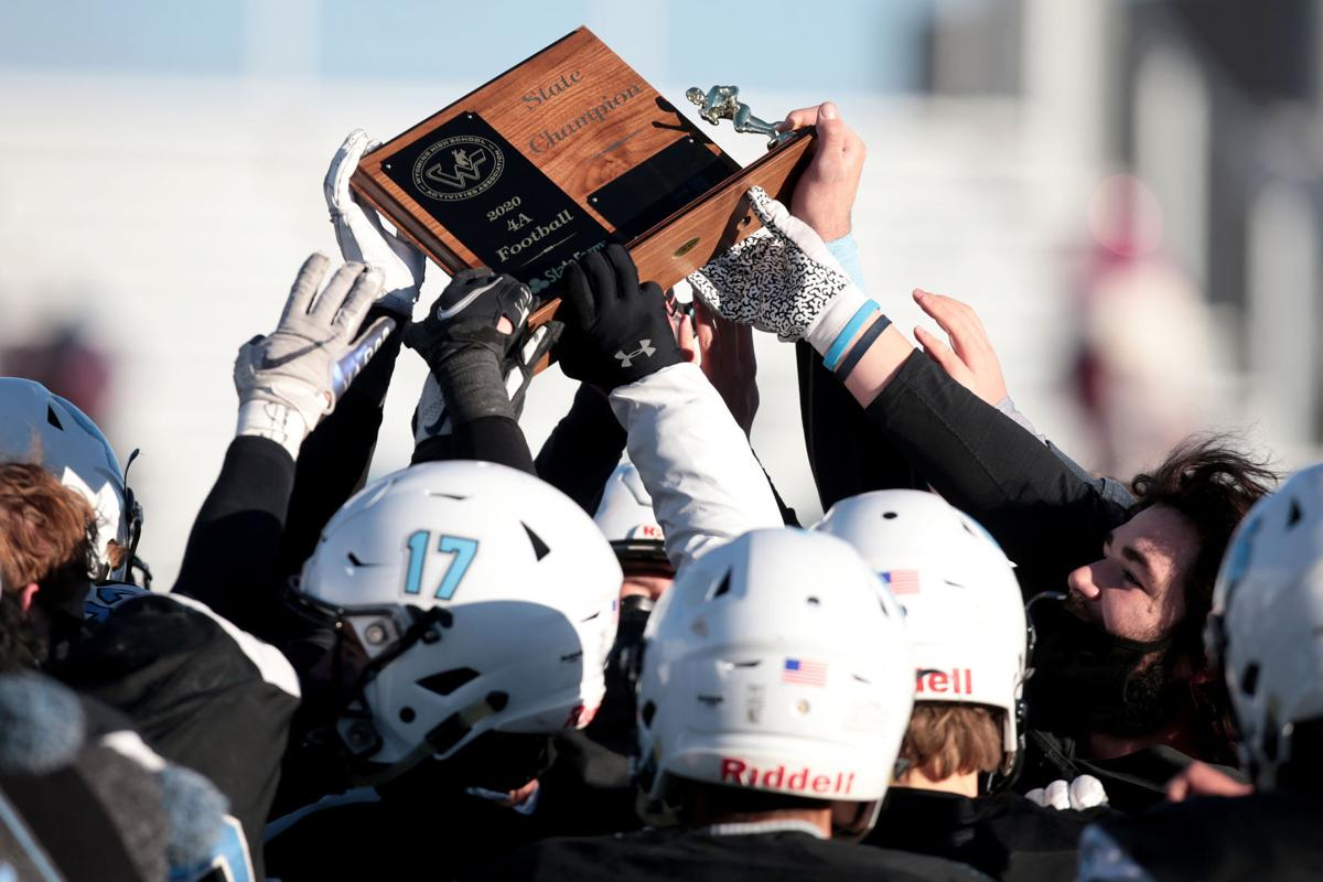 Cheyenne East state championship plaque