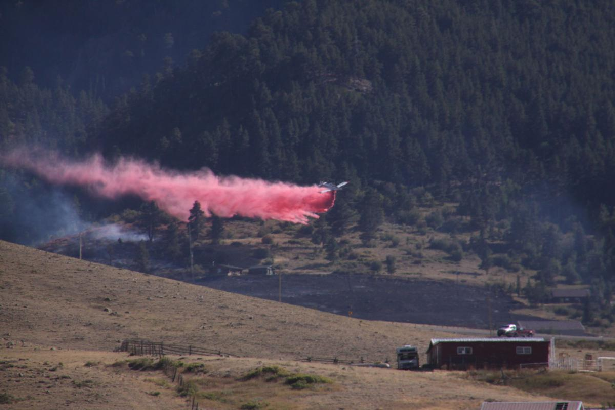 Casper Mountain fire