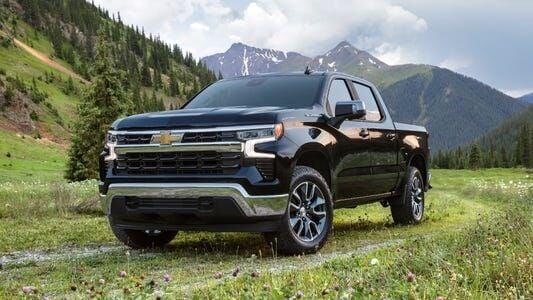 new Silverado pickup